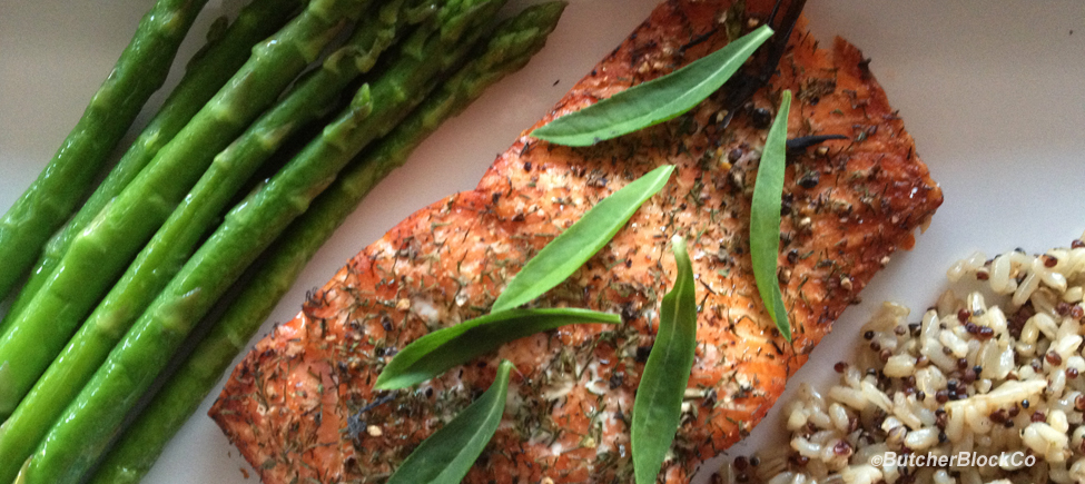 Cedar-planked Salmon – A simply delicious recipe!