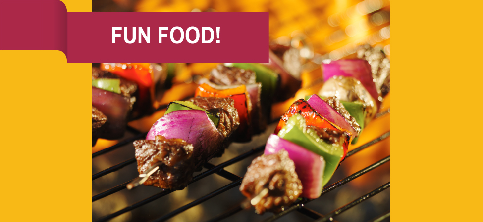 Fun Food: Build-Your-Own Kabobs!