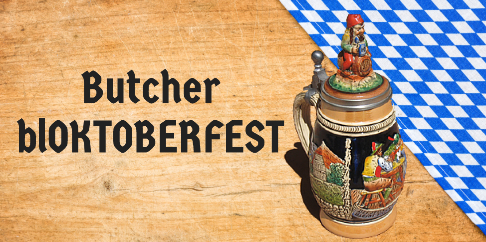 Butcher Block Co. Announces blOKTOBERFEST in Celebration of Oktoberfest