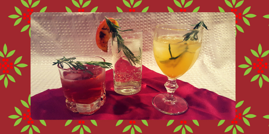 Seasonal Rosemary Cocktails