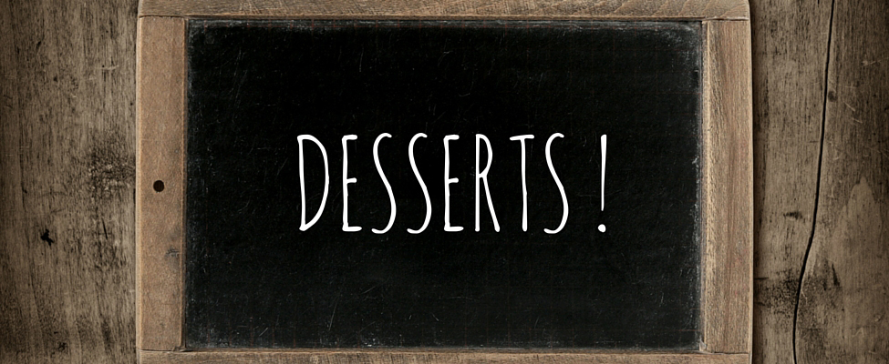 Pick Your Favorite Dessert Recipes From Our Dessert Cart!