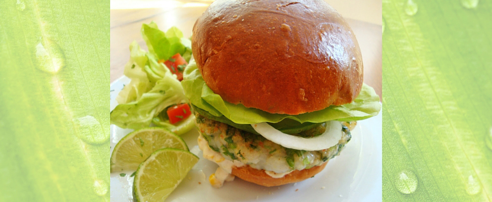 Light and Tasty Shrimp Burgers