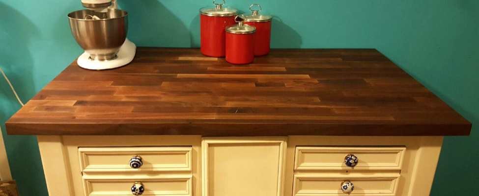 Walnut Butcher Block Tops