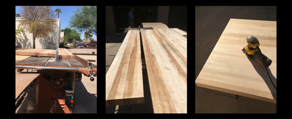 Butcher Block cut