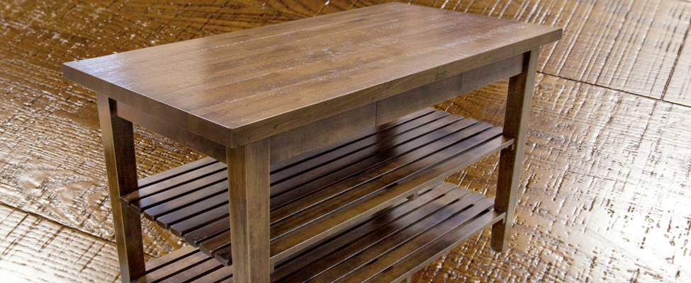 John Boos Launches Rustic Edge Classic Country Work Table