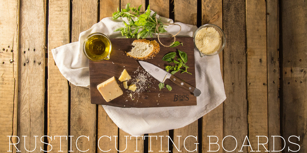 Modern Rustic Edge Cutting Board