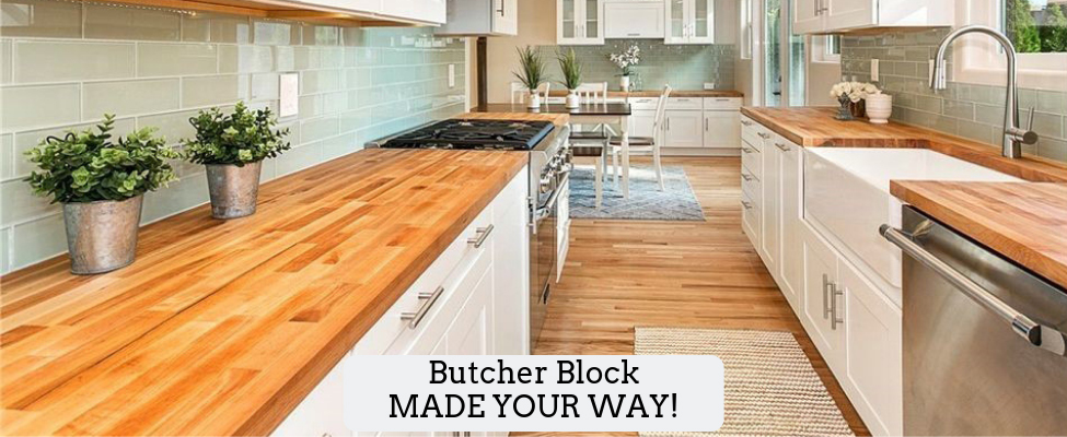 Customized Butcher Block Made Your Way!